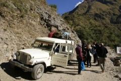 Unser 13 Personen-Jeep