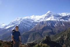 Blick aufs Annapurnamassiv
