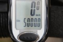 Die ersten 5000km sind erstrampelt.