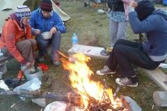 Lagerfeuerstimmung