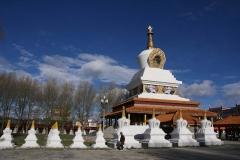 Tempel bei Litang