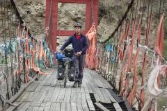 Verlotterte Brücke