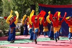 Farbenfrohes Schulfest