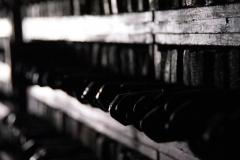 Im Kloster in Dege werden die meisten Druckerzeugnisse für die tibetische Kultur in Handarbeit hergestellt. Hier die tausenden von Druckplatten.