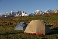 Einmal mehr ein wunderschöner Zeltplatz