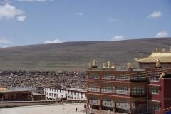 Yangding, bekanntes religiöses Zentrum.