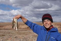 Fischerglück per Hand