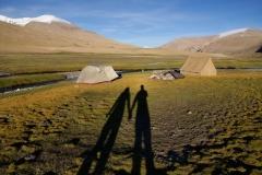 Licht und Schatten - Camping auf 5000m in Ladakh/Changtang Hochebene