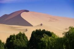 Sanddünen bei Dunhuang