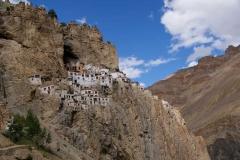 Kloster hoch oben in den Felsen - Zanskar