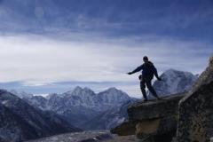 Hier in der Naehe wurde der Everest erstmal vermessen