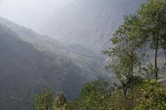 Sicht ins nepalische