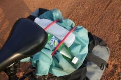 Es ist heissssss! Bis zum Mittag haben wir meist schon 3l Wasser gebechert.