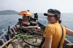 Longtailboot auf Koh Tatang