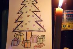 Improvisierter Weihnachtsabend...