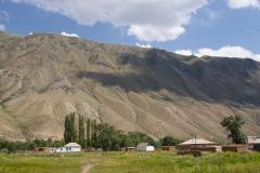Kirgisische Siedlung