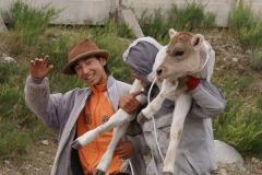 Am Viehmarkt in Karakol. Zufriedene Käufer...