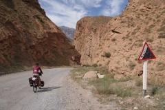 Auf der Fahrt nach Naryn