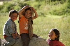 Die Kinder unserer Homestay Familie