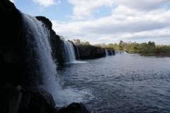 Wasserfall am Wegrand