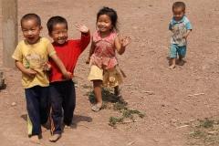 Aufgeweckte Kinder