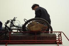 Laotischer Velotransport Teil 2