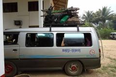 Laotischer Velotransport Teil 3