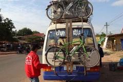 Velotransport auf Laotisch Teil 1