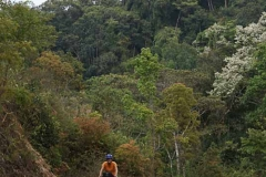 Einsame Bergsträsschen fast ohne Verkehr, dafür Berge ohne Ende.