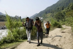 Flacher Trekkingstart