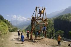 Nepalesischer Spielplatz