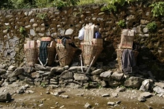 Nepalesisches Wandergepäck