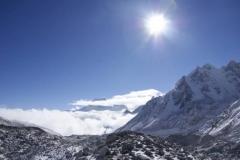 Die Wolken bleiben in Tibet