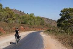 In den Hügeln von Myanmar