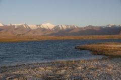 Karakul See. Höchstgelegener Salzsee von Zentralasien