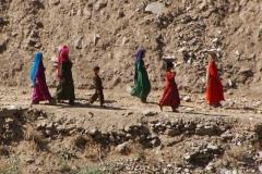 Fussgänger in Afghanistan