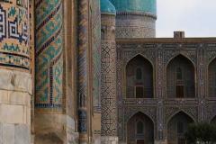 """""""Registangebäude"""" in Samarkand."""