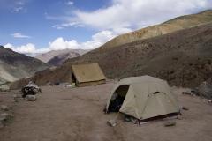 Erstes Camp auf 4100
