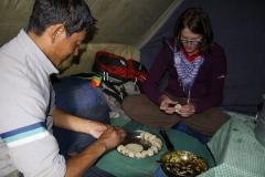 Kochunterricht bei Sonam
