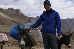 Philipp als Eseltreiber
