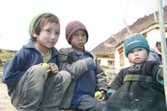 Die Kinder vom Trekkingagency-Inhaber