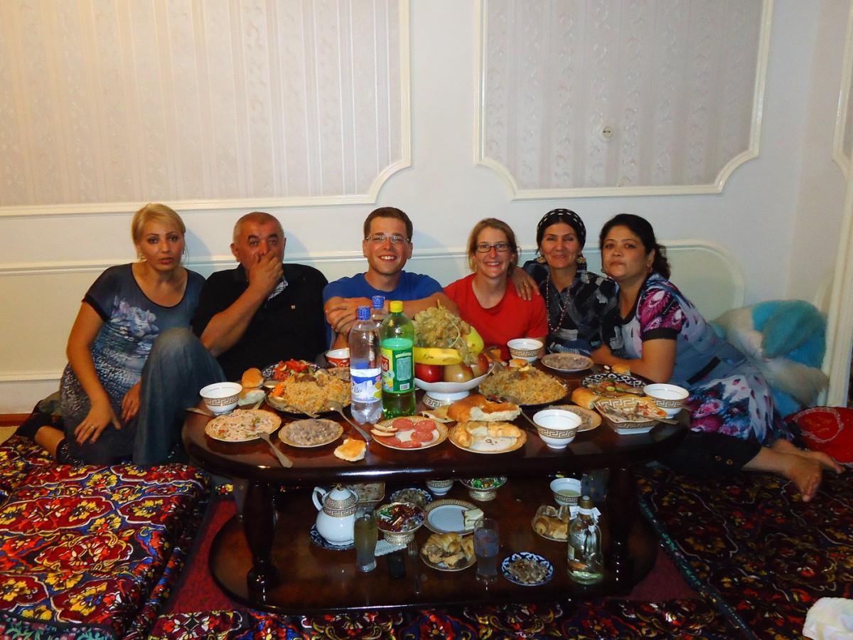 Eingeladen bei Ali und seiner Familie