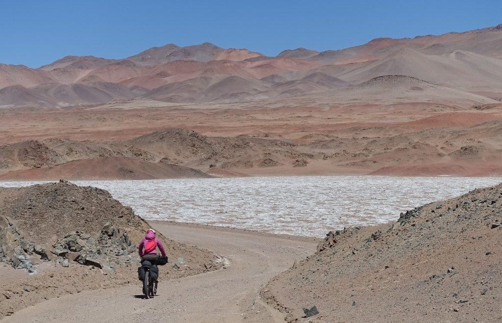 Argentinische Puna und der Vulkan der Inka